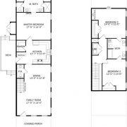 Parkwood Floor Plan, East Towne Village, Rock Hill, SC - Floor Plans