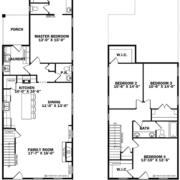 Montague Floor Plan, East Towne Village, Rock Hill, SC - Floor Plans
