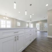 Montague Floor Plan, East Towne Village, Rock Hill, SC - Kitchen Island