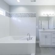 Montague Floor Plan, East Towne Village, Rock Hill, SC - Master Bath 2